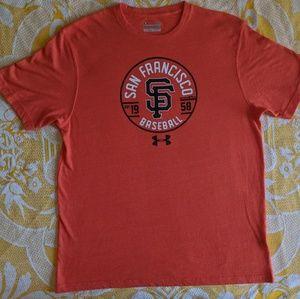 Under armour San Francisco Giants baseball tee L